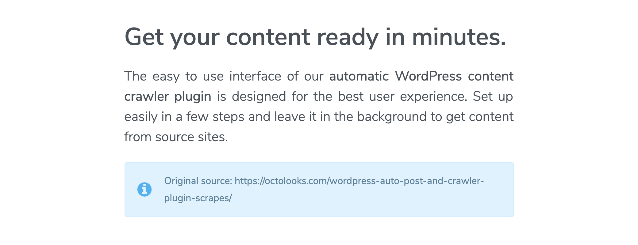 Adding a WPBakery Page Builder shortcode to content - Result